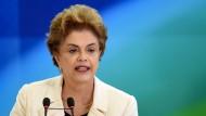 Brasiliens Präsidentin Dilma Rousseff: Kommt nun bald die Amtsenthebung?