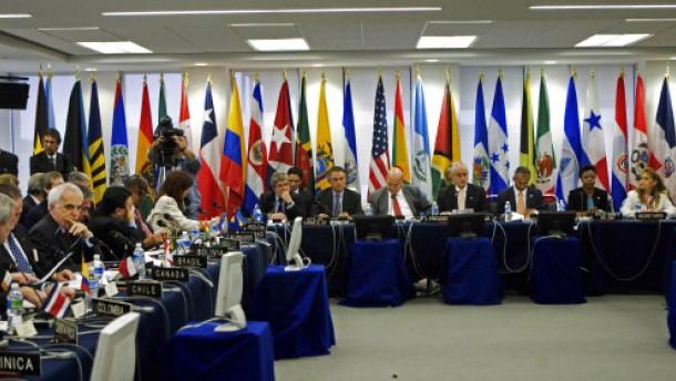 OAS setzt Mitgliedschaft von Honduras aus