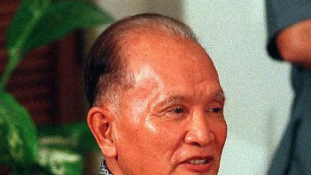 Pol Pots Stellvertreter verhaftet