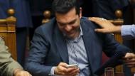 Parlament erteilt Tsipras Mandat