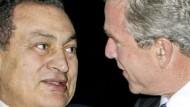 Auf Clintons Spuren: Bush bei Mubarak