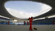 Olympiastadion in Rio ohne Wasser und Strom