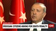Erdogan spricht über Wiedereinführung der Todesstrafe