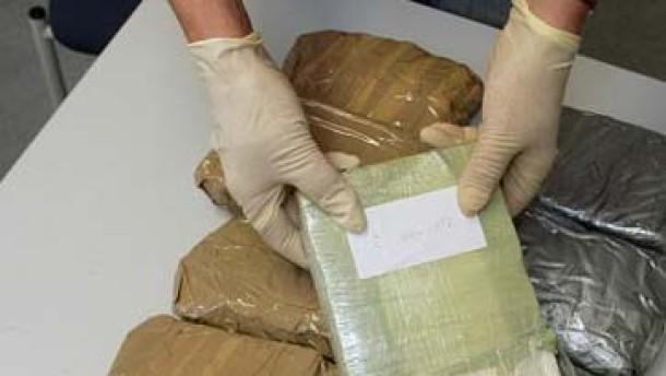 Zoll-Hündin erschnüffelt Kokain durch Gammelfleisch-Paste