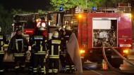 Brand in Flüchtlingsunterkunft in Rottenburg