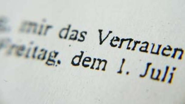 """""""Der Verlag vertraut mir"""""""