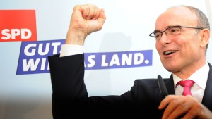 SPD klarer Sieger - Grüne im Landtag