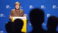 Merkel spricht sich für Kontingente aus