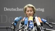 Von der Leyen kündigt umfassende Reformen nach Bundeswehr-Affäre an