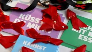 Solidaritäts-Aktion für Aids-Erkrankte