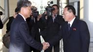 Süd- und Nordkorea nehmen Dialog auf
