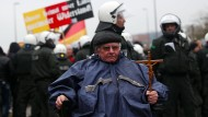Pegida-Demo in Wuppertal abgebrochen