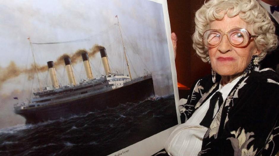 Überlebende der titanic