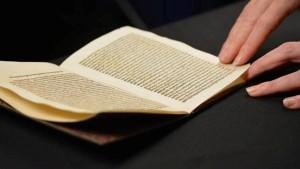 Brief von Christoph Kolumbus kopiert