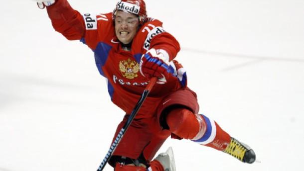 Russland verdirbt Kanada die Titelparty