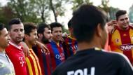 Deutschlands erste Fußball-Flüchtlingsmannschaft