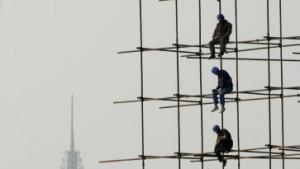 Chinas Wachstum schwächer als erwartet