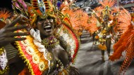 Pure Lebenslust beim Karneval in Rio de Janeiro