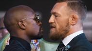 Riesiger Hype vor historischem Box-Fight