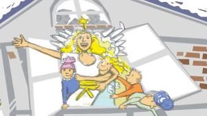 Im Christkindbüro ist der Teufel los