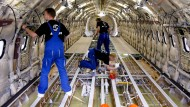 Karriere machen beim Flugzeugbauer