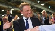 Christian Lindner als FDP-Parteichef wiedergewählt