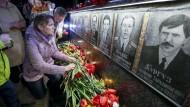 Ukraine gedenkt Opfer der Tschernobyl-Katastrophe