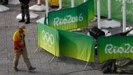 Kamera über Olympischen Park abgestürzt