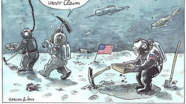 Nato-gefährdetes Ökosystem
