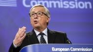 Weihnachtsgeschenk für die EU - Juncker investiert