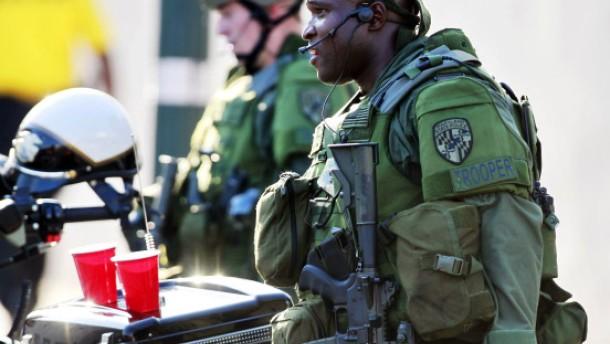 Polizei erschießt verwirrten Umweltschützer