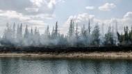 Waldbrände machen Ureinwohner zornig