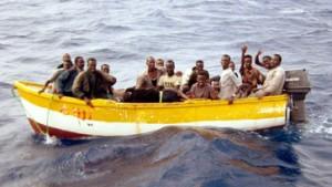 Hunderte Flüchtlinge auf italienischer Insel Lampedusa