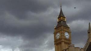 Demonstranten stürmen das britische Unterhaus