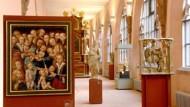 Vom Spätmittelalter bis zur Neuzeit: Kunstwerke in den Obergeschossen