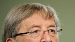 Juncker bleibt Vorsitzender der Eurogruppe