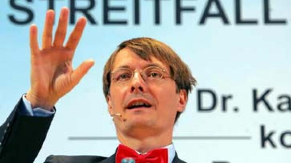 Karl Lauterbach Haarscharf Entlang Der Wahrheit Wirtschaftspolitik Faz