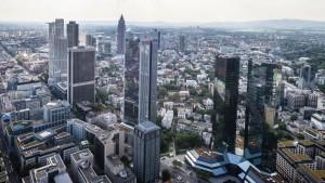 Europas solide Banken hoffen auf weniger Konkurrenz