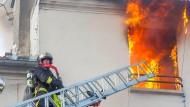 Tote bei schwerem Hausbrand