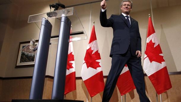 Kanadas Wirtschaft über Harpers Wahlsieg erfreut