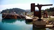 Geheime Militärinsel in Albanien