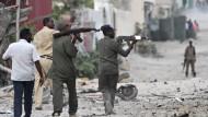 Kämpfe in Hotel in Mogadischu halten an