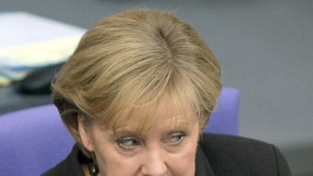 """Merkel mahnt: """"Nicht in einen Wettlauf der Milliarden verfallen"""""""