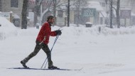 Zwei Meter Schnee in Boston