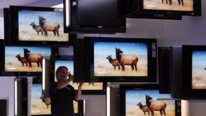 Das Fernsehgeräte-Geschäft von Philips schwächelt