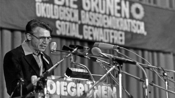 Grüne Jubiläum 30 Jahre Grüne - Gründungsparteitag Bahro