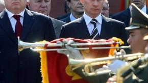 Ministerpräsident Michail Fradkow und Putin