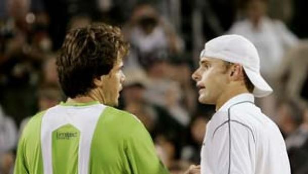 Harter Kampf in Houston: Haas schlägt Roddick