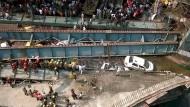 Brücke in Indien eingestürzt