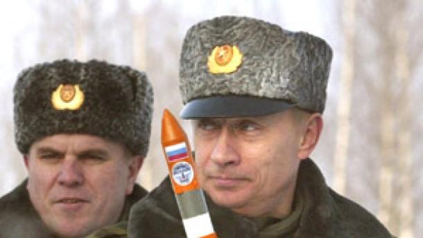 Putin kündigt neue Atomwaffen an